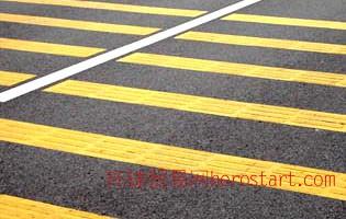 云南交通设施昆明致安市政工程有限公司供应热熔标线