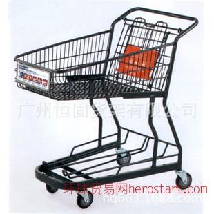日式喷塑购物车, 超市购物车,广州购物车,购物手推车
