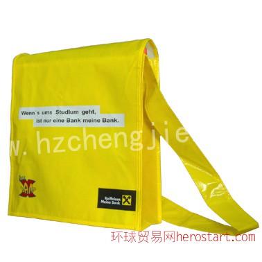商家名称、标志等全印在袋上环保袋成新的广告商机