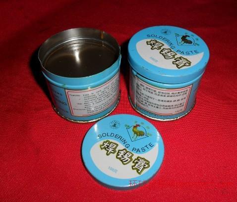 金鸡焊锡膏 助焊膏 焊接辅料 100克