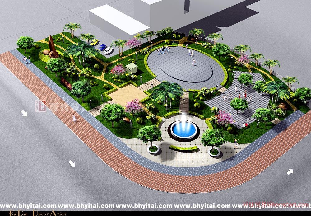 景观绿化装饰工程设计施工