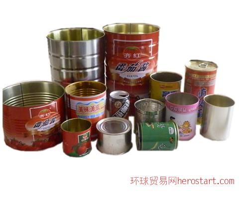 各种精美马口铁罐