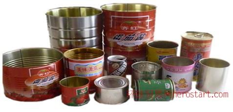 供应各种圆柱形马口铁制品包装铁罐