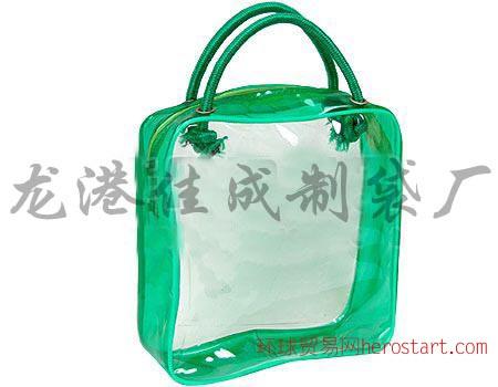 常州pvc拉链袋,杭州pvc手提袋,化妆袋厂家