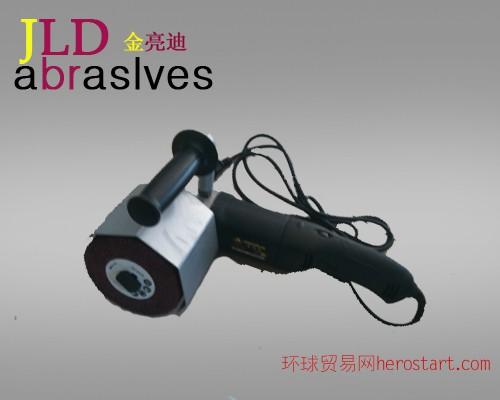 天津供应电动手提式拉丝机,金世伯KPDL-1450手提式拉丝机