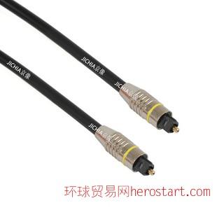 数码光纤音频线光纤线  数码音频线金属外壳