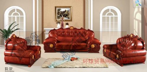 喜进家园新款体验 红木欧式真皮沙发 组合客厅沙发 热卖大气沙发