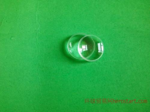 10MM双凸非球面聚焦手电筒投影镜片/小功率手电筒聚光镜片