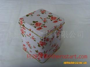 精美铁罐 马口铁 胶印 方形