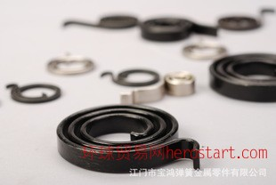 涡卷弹簧  专业生产各种类型弹簧 不锈钢弹簧定做