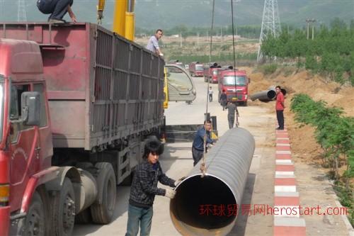 Q345B螺旋钢管-16Mn螺旋钢管-石家庄16Mn螺旋钢管