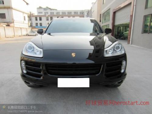 黄江进口二手车2008年保时捷卡宴4.8S价格36万