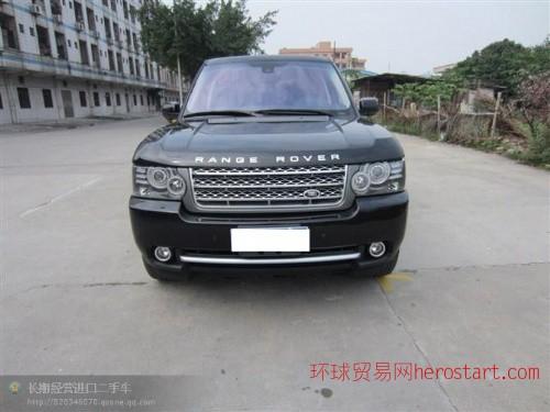 黄江进口二手车2011年路虎揽胜5.0T价格88万