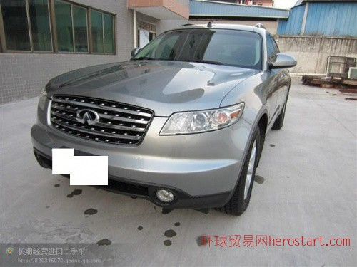 黄江进口二手车08英菲尼迪FX45销价:26万