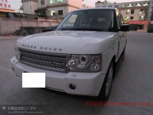 黄江进口二手车2008年路虎揽胜4.2增压销价45万