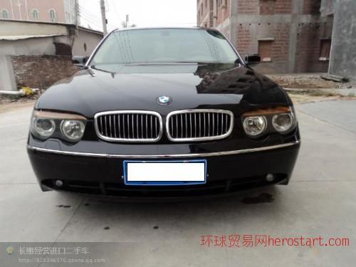 黄江进口二手车2005年宝马745销价19万