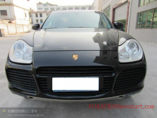 黄江进口二手车2005年保时捷卡宴4.5S价格28万