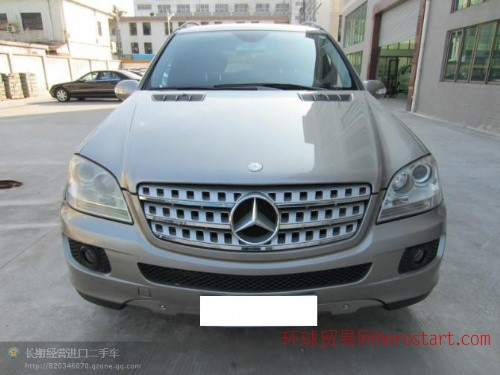 黄江进口二手车2007年奔驰ML500价格25万