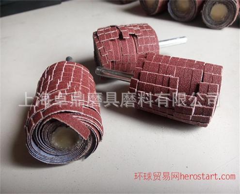 订做各种规格的带柄砂布丝轮 砂布抛光轮