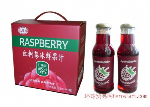 紅樹莓冰鮮果汁(310ML)