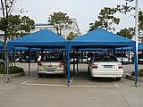 汽车停车棚遮阳蓬户外帐篷野营帐篷推拉车棚挡雨棚