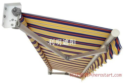 户外伸缩蓬太阳棚挡雨棚折叠棚四角帐篷活动收拉篷