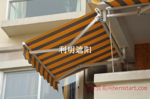 加强型伸缩臂遮阳棚豪华式雨篷折叠棚展销棚四角帐篷推拉棚