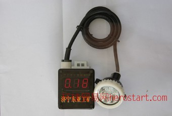 KLW4LMX(A)型数显甲烷报警矿灯,数显矿灯,数显甲烷检测矿灯,数显锂电矿灯,数显瓦斯检测矿灯