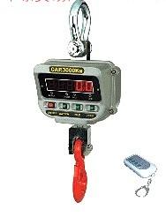3T双面显示电子吊秤,3吨360度旋转直视吊秤