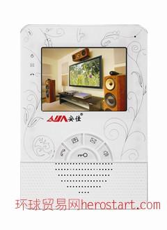 楼宇对讲机十大品牌可视对讲可视门铃--珠海安佳电子有限公司