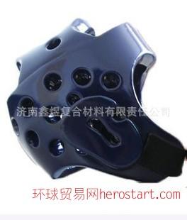 优质跆拳道比赛专用护头,特殊工艺一次成型