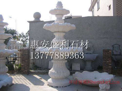 石雕喷水池 石雕喷水池设计 杭州石雕喷水池
