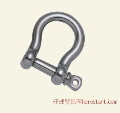 不锈钢弓型卸扣,不锈钢卸扣
