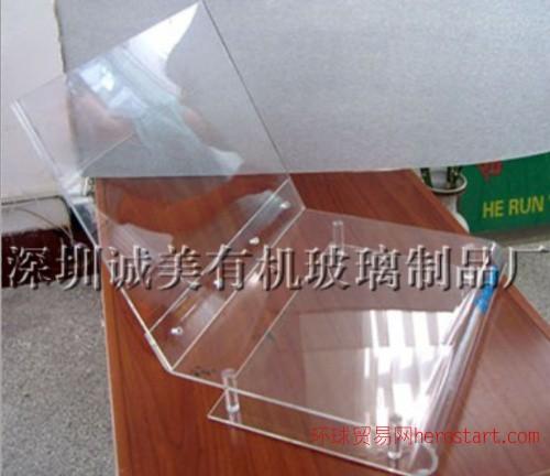 深圳产品热弯展示架 宝安有机玻璃折弯展架 烤弯加工