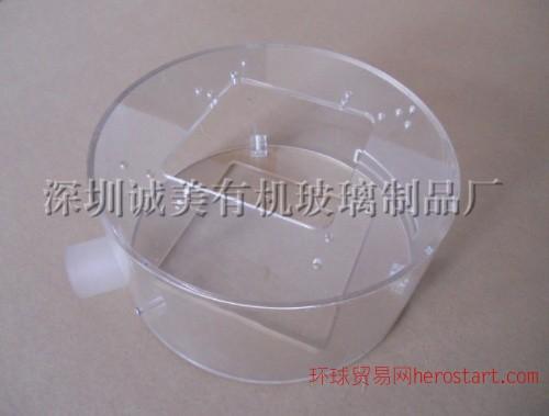广东圆形机械设备罩 圆形有机玻璃护罩 亚克力圆管