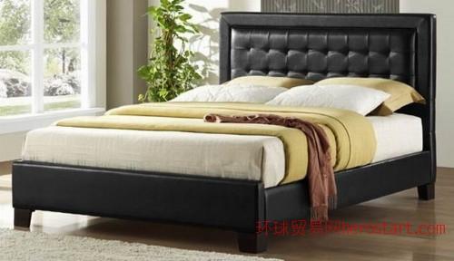 美式真皮床,酒店家具,实木家具,美式家具,欧式古典家具,户外家具