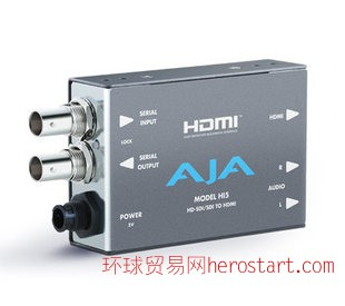 AJA hi5 Mini Converter - SDI to HDMI 转换器 高标清转换器