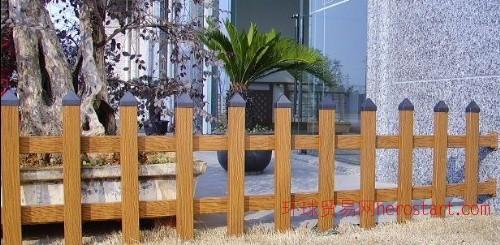 福建木纹装饰水印铝材绿化护栏