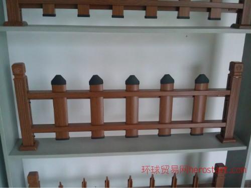 户外耐候仿木管材园林绿化护栏