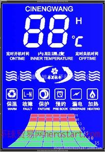 变频磁能热水器显示屏LCD显示屏