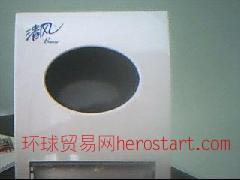 厂价售清风高级抽取式餐巾纸及面巾纸盒