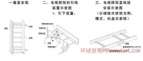 托盘式电缆桥架-托盘式水平弯通XQJ-P-02