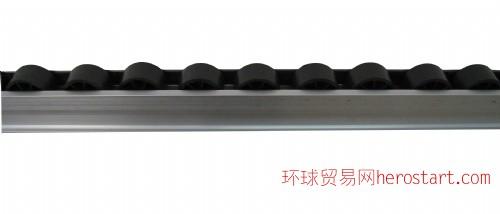 长期销售批发铝材滑轨 流利条 接头配件 精益管接头 周转车 脚轮