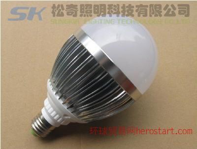款大功率LED球泡灯、1-15w、室内照明、商业照明灯具