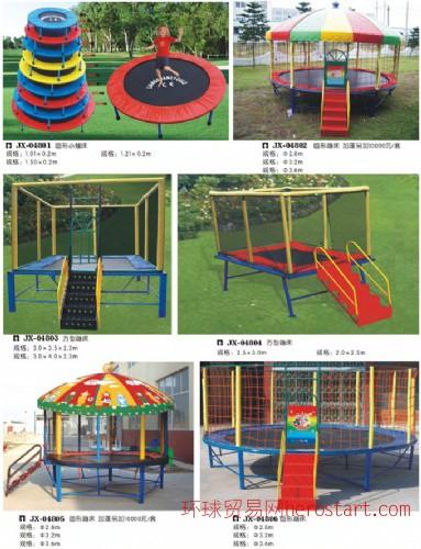 幼儿园蹦床 转椅 球池 秋千课桌椅等配套设施