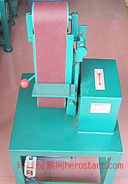立式电动砂带机