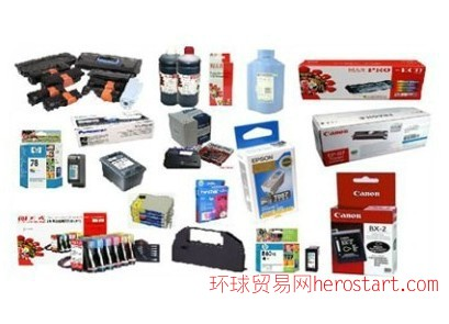 深圳供应打印机碳粉 硒鼓 墨盒 连供 墨水 打印机配件