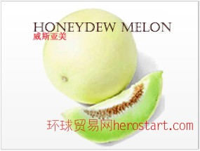 美国加州原产 蜜瓜 Honeydew Melon 纯鲜浓缩果汁 美国工厂直销 直运