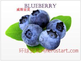 美国加州原产 蓝莓 Blueberry 纯鲜浓缩果汁 美国工厂直销 直运