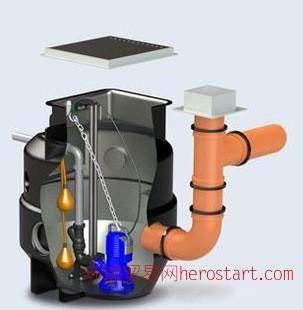 泽尼特污水提升装置BOX PRO M